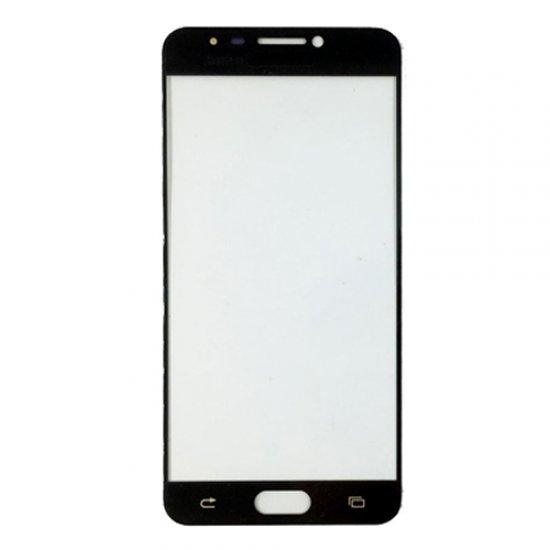 Glass Lens for Samsung Galaxy C5 Black