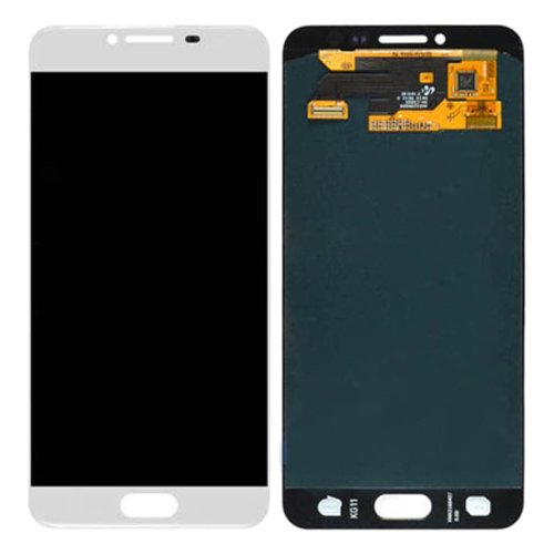 LCD with Digitizer Assembly for Samsung Galaxy C5 White