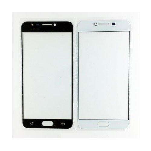 Front Glass Lens for Samsung Galaxy C7 White Original