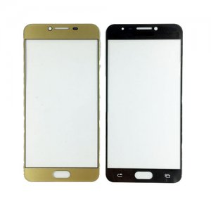 Front Glass Lens for Samsung Galaxy C7 Gold