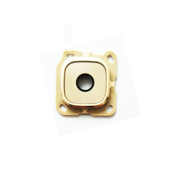 Camera Lens and Bezel for Samsung Galaxy C9 Pro Gold