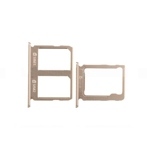 SIM and SD Card Tray for Samsung Galaxy C9 Pro Gold
