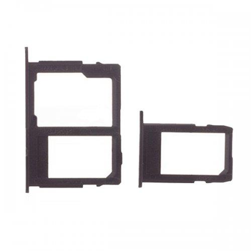SD&SIM Card Tray for Samsung Galaxy J3 (2017) J330 Black