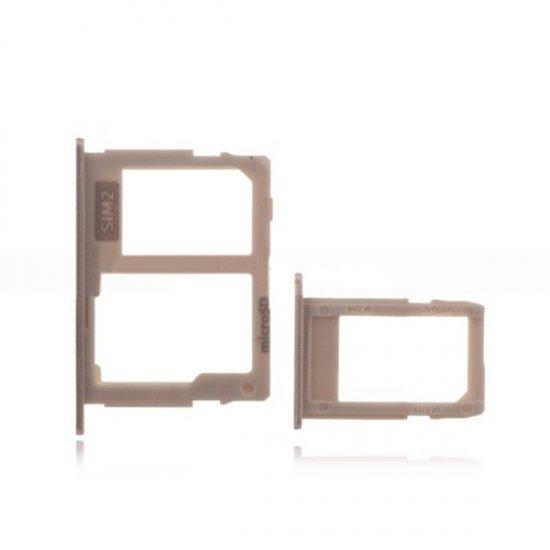 SD&SIM Card Tray for Samsung Galaxy J3 (2017) J330 Gold