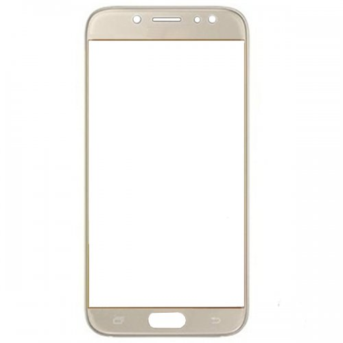 Glass Lens for Samsung Galaxy J7 2017  Gold