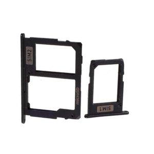 SIM and SD Card Tray for Samsung Galaxy J7 (2017) Black