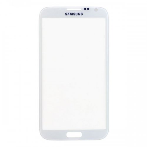 For Samsung Galaxy Note 2 N7100 Front Glass Lens White