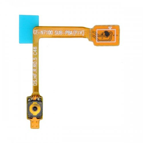Original Power Button Flex Cable For Samsung Galaxy Note 2 N7100