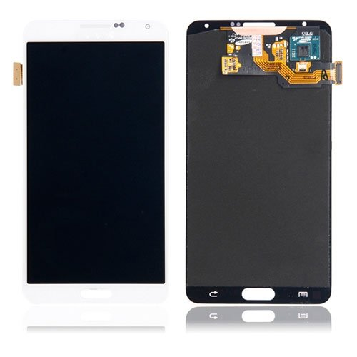 LCD with Digitizer Assembly for Samsung Galaxy Note 3 White Original LCD + Copy Glass