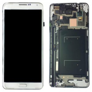 LCD with Frame for Samsung Galaxy Note 3 Black Original LCD + Copy Glass