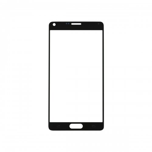 For Samsung Galaxy Note 4 Front Glass Lens Black