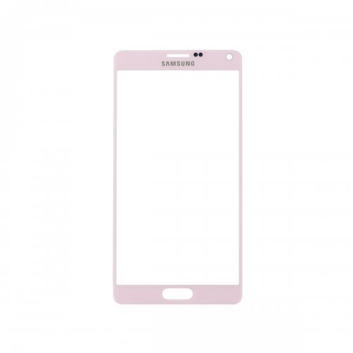 For Samsung Galaxy Note 4 Front Glass Lens Pink