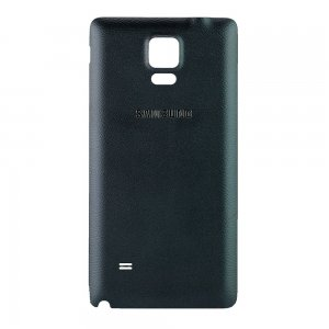 For Samsung Galaxy Note 4 Battery Cover Black