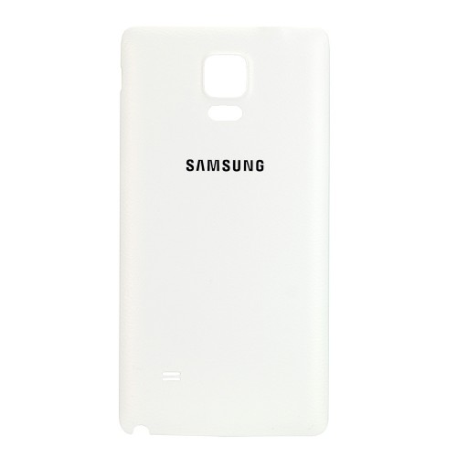 For Samsung Galaxy Note 4 Battery Cover White