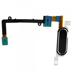 For Samsung Galaxy Note 4 Series Home Button with Flex Cable Ribbon Black