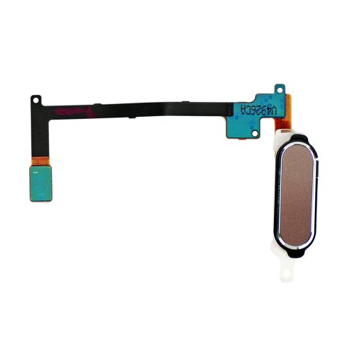 For Samsung Galaxy Note 4 Series Home Button with Flex Cable Ribbon Gold