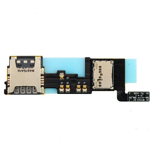 For Samsung Galaxy Note 4 N910F Sim Card Reader Cantact