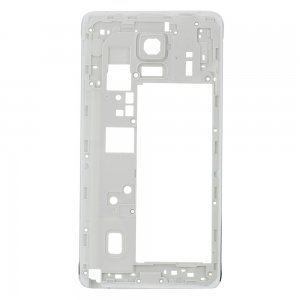 Rear Housing Frame without Small Parts for Samsung Galaxy Note 4/N910F White