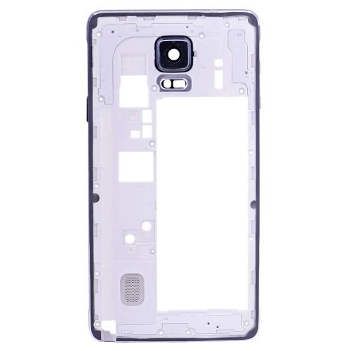 Rear Housing Frame with Small Parts for Samsung Galaxy Note 4/N910F Black
