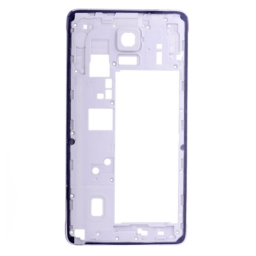 Rear Housing Frame without Small Parts for Samsung Galaxy Note 4/N910V Black