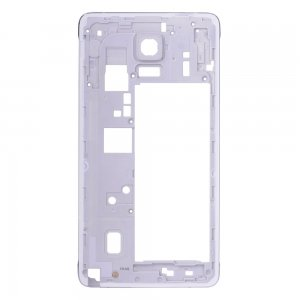 Rear Housing Frame without Small Parts for Samsung Galaxy Note 4/N910V White