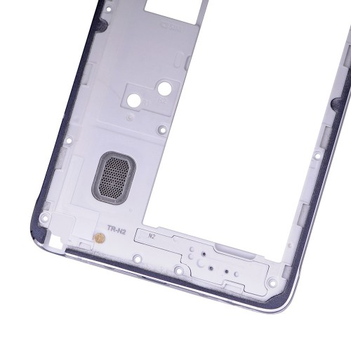Rear Housing Frame with Small Parts for Samsung Galaxy Note 4/N910V Black