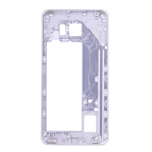 Rear Housing Frame for Samsung Galaxy Note 5 Silver without Small Parts