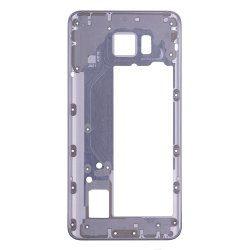Rear Housing Frame for Samsung Galaxy Note 5 Grey without Small Parts