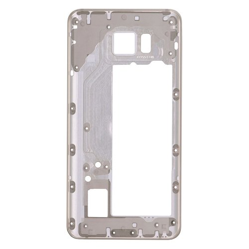 Rear Housing Frame for Samsung Galaxy Note 5 Gold without Small Parts