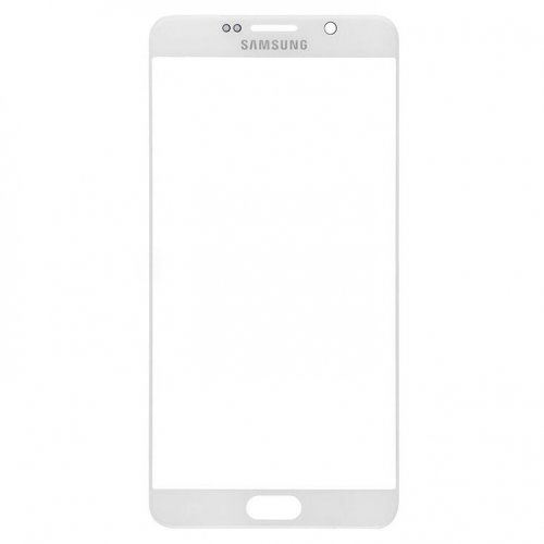 Front Glass Lens for Samsung Galaxy Note 5 White
