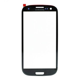 For Samsung Galaxy S3 i9300 Front Glass Lens Black