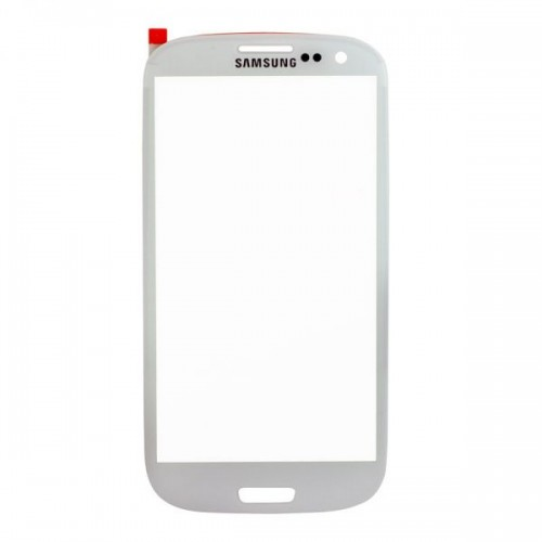 For Samsung Galaxy S3 i9300 Front Glass Lens White