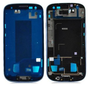 Front Housing Middle Plate for Samsung Galaxy S3 i9300 Black