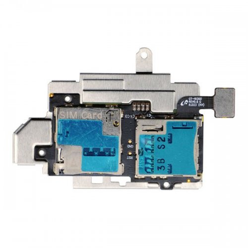 Original SIM SD Card Reader Slot For Samsung Galaxy S3 i9300