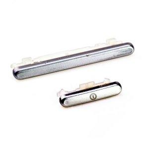 White Power Volum Button Key For Samsung Galaxy S3 i9300