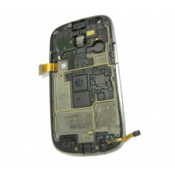 Blue LCD touch screen digitizer Assembly With Frame For Samsung Galaxy S3 Mini i8190