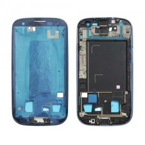 Front Frame for Samsung Galaxy S3 i9305 Black Original