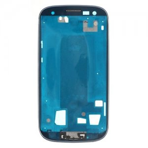 Front Frame for Samsung Galaxy S3 i9305 Blue Original