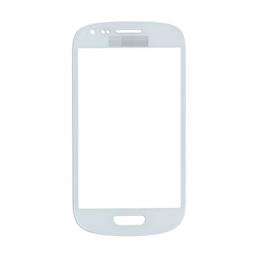 For Samsung Galaxy S3 Mini i8190 Front Glass Lens White