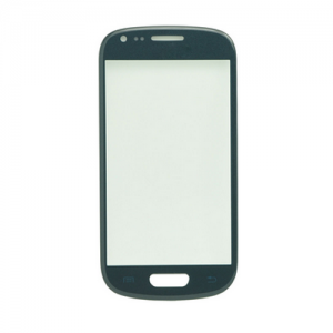 For Samsung Galaxy S3 Mini i8190 Front Glass Lens Blue