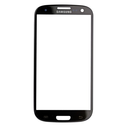 For Samsung Galaxy S3 i9300 Front Glass Lens Grey