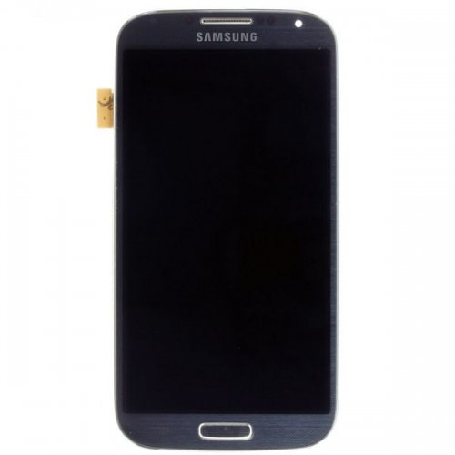 LCD Screen Digitizer Assembly with Front Frame for Samsung Galaxy S4 i9500 Black
