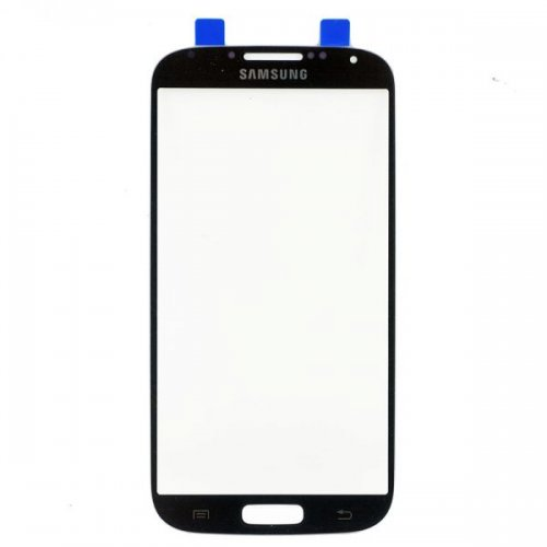 For Samsung Galaxy S4 Front Glass Lens Black