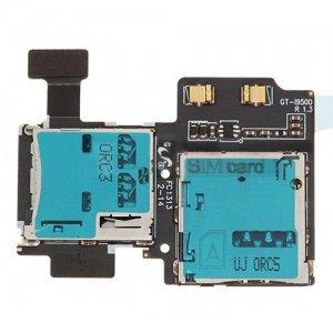 Original SIM Card and Memory Card Reader Contact for Samsung S4 i9500/i9505