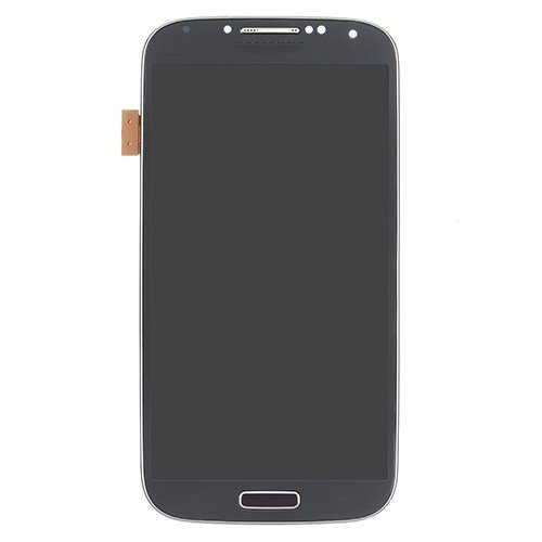Original LCD with Frame for Samsung Galaxy S4 i9505 Black high copy glass