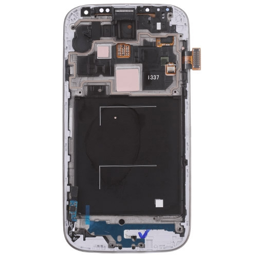 Original LCD (High Copy Glass) Assembly With Frame For Samsung Galaxy S4 i337 M919 White