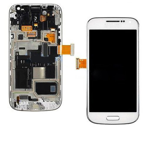 White LCD Touch Screen Digitizer Assembly With Frame for Samsung Galaxy S4 Mini i9190/i9195/i9195T
