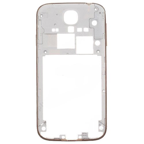 Middle Frame Front for Samsung Galaxy S4 i9500 Gold Original