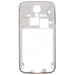 Middle Frame Front for Samsung Galaxy S4 i9505 Gold Original