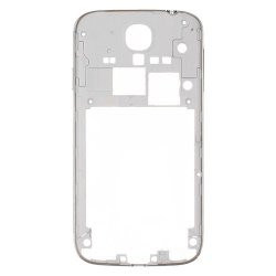 Middle Frame Front for Samsung Galaxy S4 i9505 Silver Original